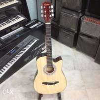 """Acoustic Guitar 39"""" Cutaway Price: 6500 salle price 4999 All colours"""