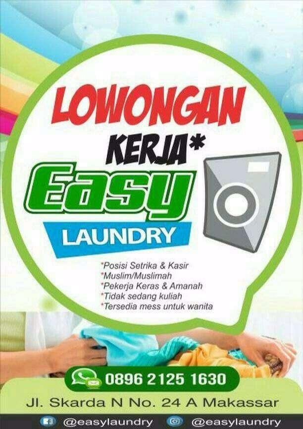 Lowongan Easy Laundry Lowongan 758958924