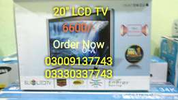 """20"""" LCD TV BRAND NEW Only In 6600/-"""