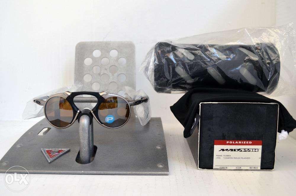 4222acd6b4 Brand New Oakley Madman Plasma Tungsten Iridium Polarized in Bauan ...