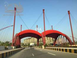 Block-A 50*90 residential plot is available Gulberg Residencia green
