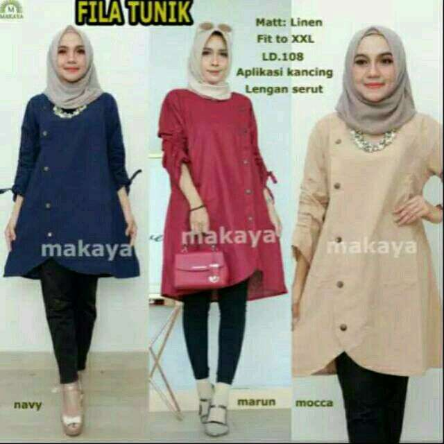 Fila tunik fit to xxl