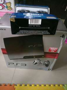PS3 ofw 160 gb full game baru