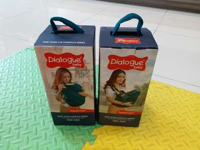 Dialogue Baby Sling 2 In 1 Emerald Series