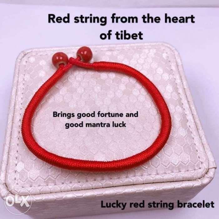Lucky Charm Trending Red String From Tibet Bracelet