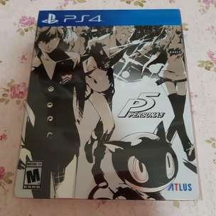 Persona 5 Steelbook Edition - PS 4 MULUS