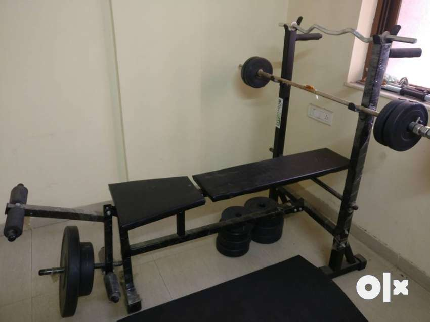 Body maxx 60kg bench press with weights
