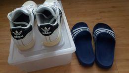 b8ed0ec38 Adidas superstar and duramo slide size 10 with free megabox shoecase