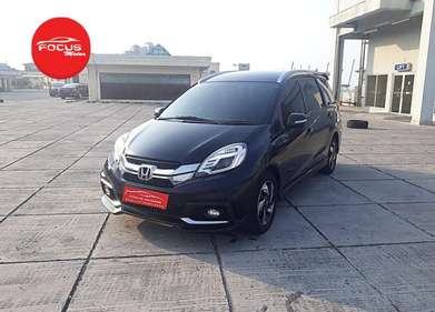 Honda Mobilio RS Cvt AT 2014 Hitam Record
