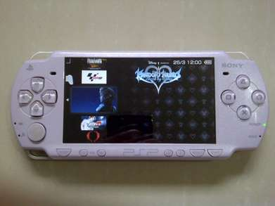 Psp Slim 2006 Purple Komplit
