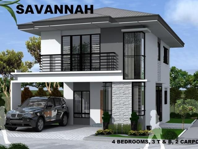 Modern 4 bedroom house and lot for sale with 2 car parking in ...