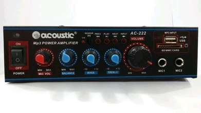 amplifier acoustic full bass
