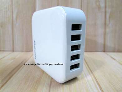 SP Hippo Penta Charger Adaptor 5 Port BB Iphone Samsung Xiaomi