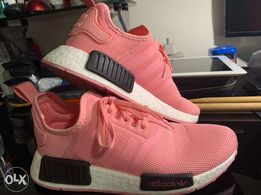 promo code d0696 5d219 Pre-Loved almost Brand New Pink Adidas NMD