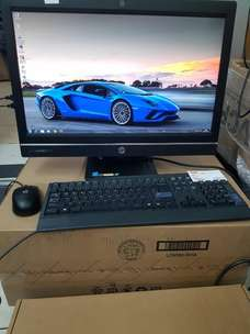 All in one AIO HP Pro one 600 core i5 Haswell Gen 4 ram 4gb hdd 500gb