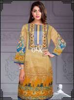 Ethnic Luxury Embroidered Lawn Collection Shirt Replica 2018