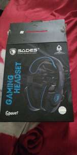 jual headphone gaming sades ori lengkap