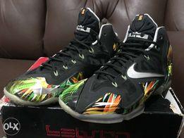 factory authentic f3f3e 3cbcb Nike Lebron 12 Everglade size 8US not Jordan Kobe Kyrie KD Dame Adidas