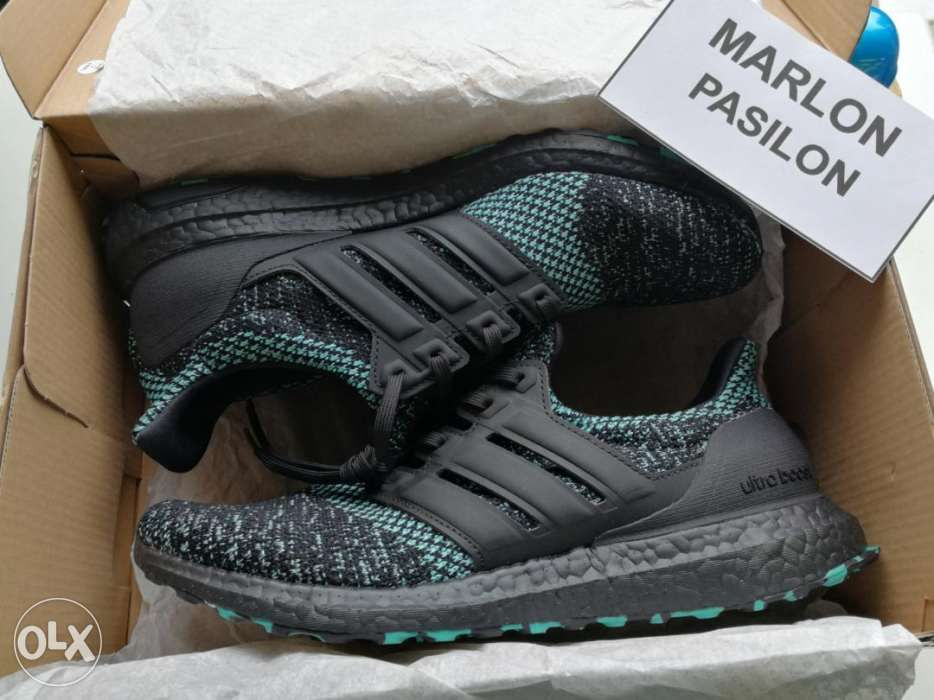da2d010bd66 Adidas Ultra Boost 4.0 Core Black True Green US 9 in Makati, Metro ...