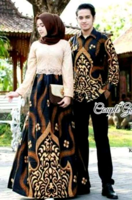 Batik Couple Tren mode