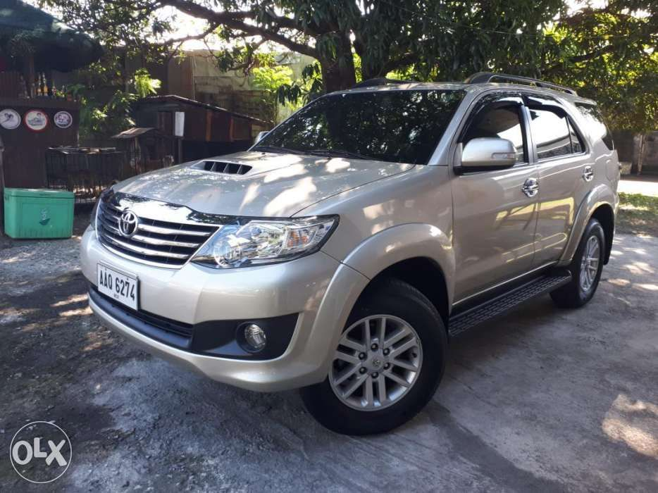 For Sale Only 2014 Toyota Fortuner G Manual Transmission Manual Guide