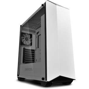 Casing PC Deepcool EARLKASE RGB White Tempered Glass|By Astikom