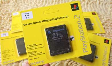 Memory Card PS2 64MB Original