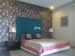 Available short and long time1bed room full furnished4rent in bahria