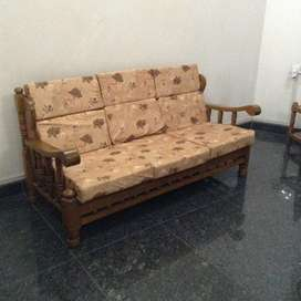Sofa Teak Wood Used Sofa Dining For Sale In Pune Olx