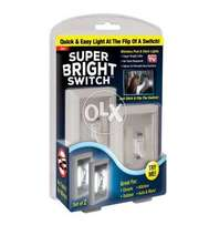 The Super Bright Light Switch with Built In Lights (2 Pcs)