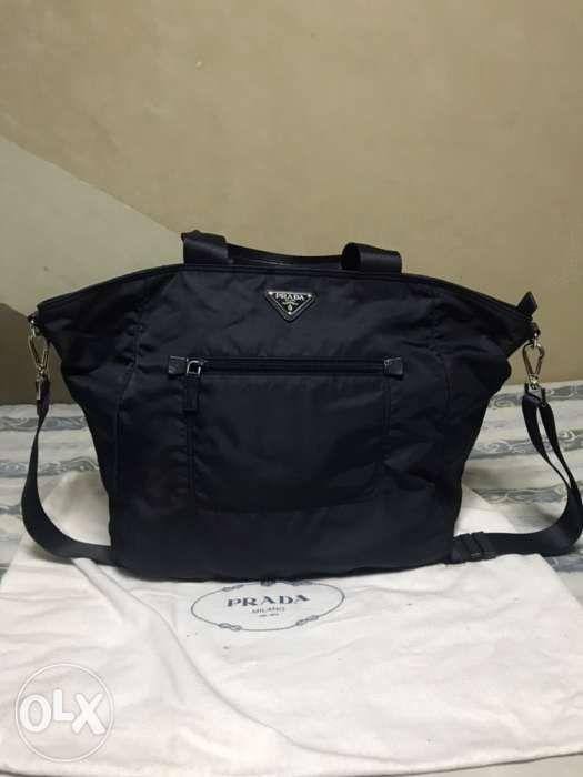 625347ed9d9b63 Prada Nylon Tote Bag Blue (BR4376) in Parañaque, Metro Manila (NCR ...