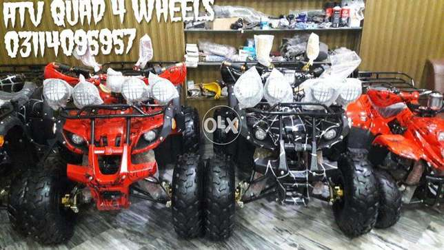 8 size 125cc atv quad 4wheel new Brand ZERO METER auto bike