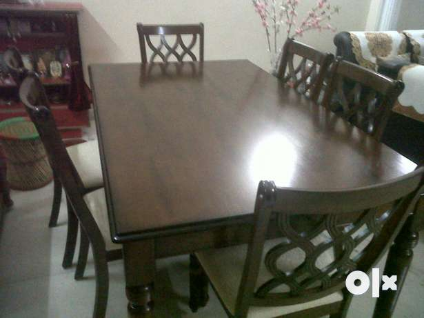 Dinning Table 6 seater table 6 chairs Delhi  : images644x461inslot1filename0v3j0xiz85l21 IN from www.olx.in size 615 x 461 jpeg 23kB