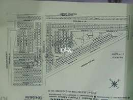 Aamna cooperative Housing Society West open plot 60 Feet wide Road