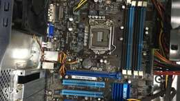 Asus Board p8h61 Branded i7 supported