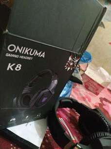 Headphone ONIKUMA K8 Gaming