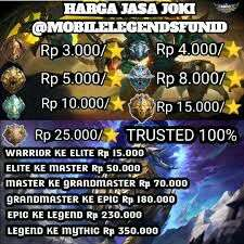 open joki akun Mobile Legend