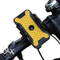 LETDOOO Cycling Bike Bicycle Phone Holder Black Yellow Plus Size