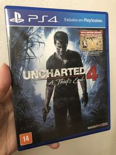 Uncharted 4 - A Thief's End PS 4 Game
