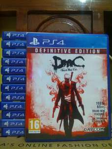 jual kaset bd ps 4 devil may cry definitive edition