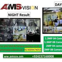 AMS Dahua 4 HD Cctv Camera Package
