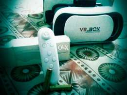 VR BOX 3D VIRTUAL reality with Bluetooth remote control