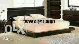 Dream bed with sider table by AWAMI