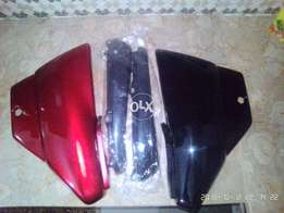 Cdi 70 side cover and seat cowl on factory rate