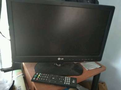 TV LG 20 inches (no minus, bonus antenna)