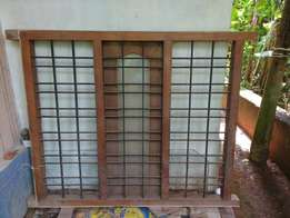 thek wood old type hard patta with 3 janal poly