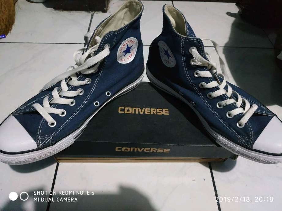 Jual Original Converse CT Allstar 1W920 Canvas High Navy (NEGO ... 0c31c9b6c1