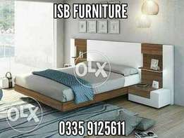 Low bed with siders