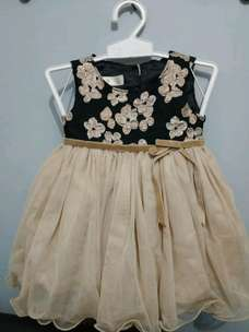 Baru ! Dress Pesta Bayi 3-6 Bulan
