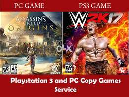 Ps3 copy game service 100% working games gurantee